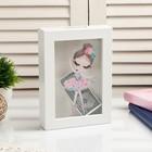 "Interior plastic piggy Bank ""Baby ballerina"" 17х12х3,8 cm"