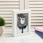 "Interior plastic piggy Bank ""Bear in a tie"" 17х12х3,8 cm"