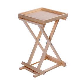 Столик для красок складной 38 х 40 х 64 см, дерево сосна