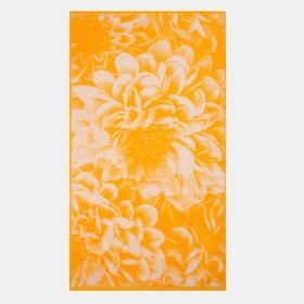 Полотенце махровое «Golden daisy» цвет жёлтый, 50х90 см, 460г/м2