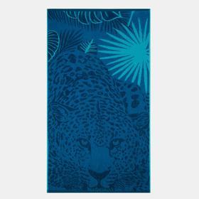 Полотенце махровое «Hunter» цвет синий, 70х130 см, 460г/м2