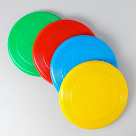 Летающая тарелка 23 × 23 × 2.7 см, МИКС