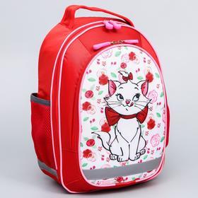 Рюкзак школьный с эргономичной спинкой, Коты Аристократы, 38 x 30 x 13 см