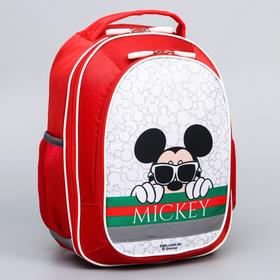 Рюкзак школьный с эргономичной спинкой, Микки Маус и друзья, 38 x 30 x 13 см