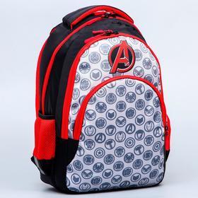 Рюкзак школьный с эргономичной спинкой, Мстители, 47 x 39 x 17 см