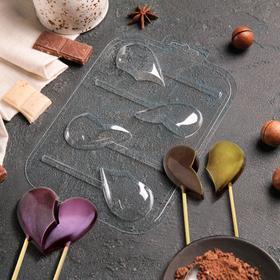 {{photo.Alt || photo.Description || 'Форма для шоколада «Половинки. Сердца на палочке»'}}