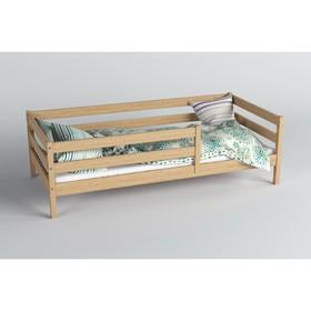 Кровать Сева, спальное место 1600х800, цвет Лак, Массив Берёзы