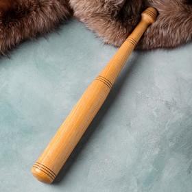 """Сувенирное деревянное оружие """"Бита бейсбольная"""", массив бука, 60 см"""