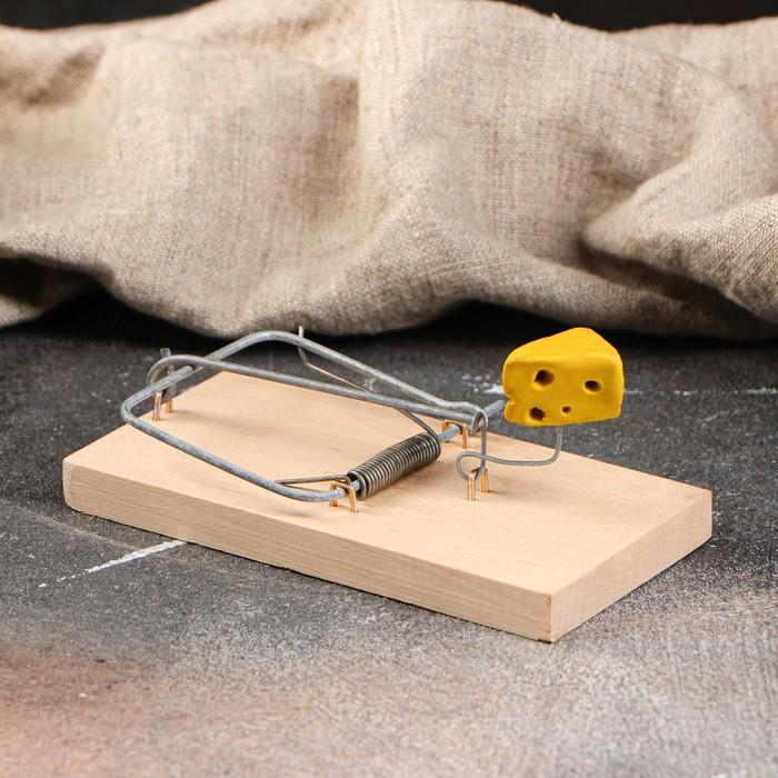 "Мышеловка деревянная ""Ретро"", 12 х 6 см"