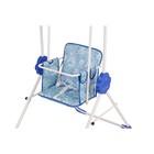 Качели детские напольные «Малыш. Фея», цвет синий - фото 105452800