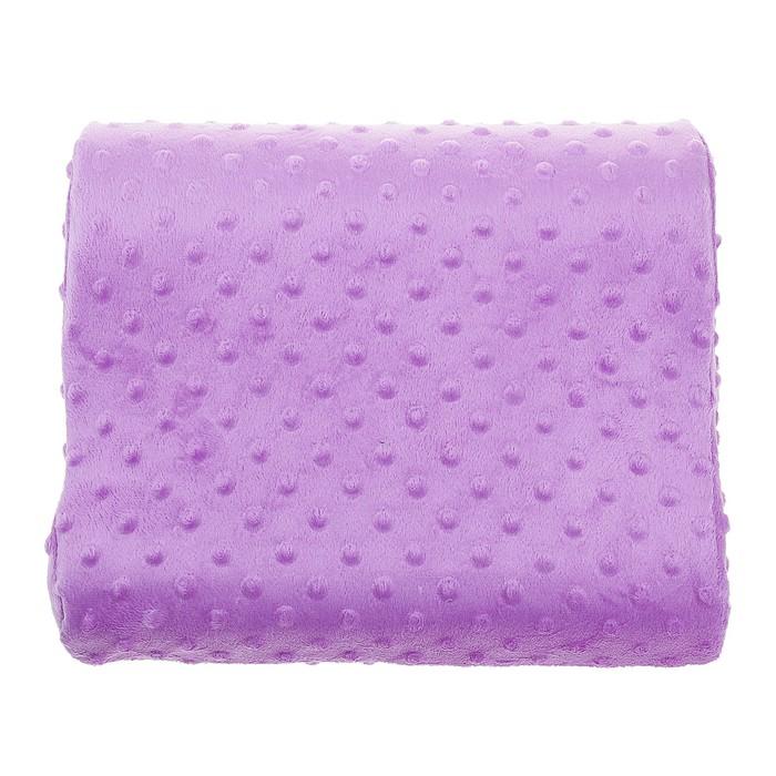 Ортопедическая подушка на спинку кресла Закат, фиолетовая