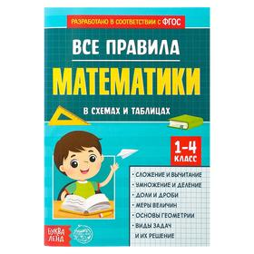 """A collection of 1-4 grades""""All the rules of mathematics"""" page 44"""
