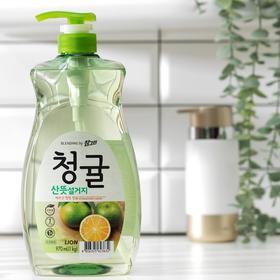 Средство для мытья посуды LION Chamgreen Зеленый цитрус, 965 мл