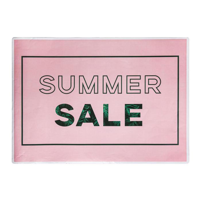 Наклейки для витрин Summer sale