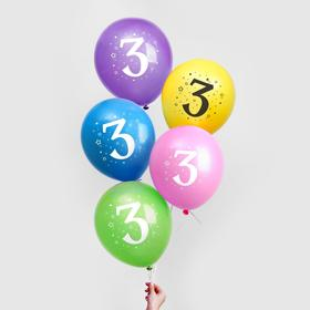 """Balloon 12"""" """"3 years"""", 25 PCs"""