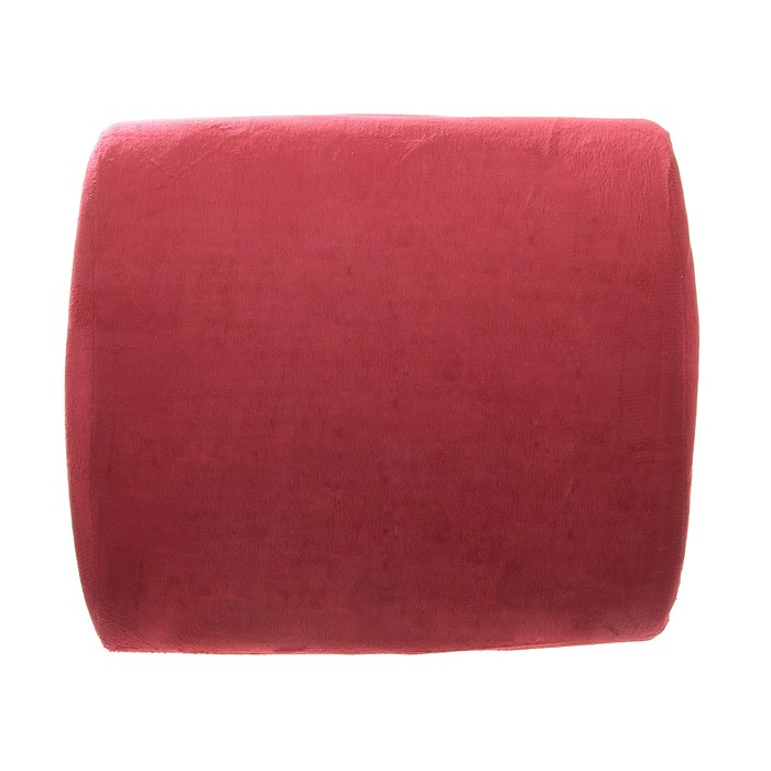 Ортопедическая подушка на спинку кресла Комфорт, бордовая