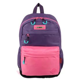 Рюкзак молодежный эргоном.спинка Merlin MR20-147 43*30*18 дев, фиолетовый/роз MR20-147-14