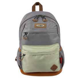 Рюкзак молодежный эргоном.спинка Merlin MR20-147 43*30*18, серый/бежевый MR20-147-6