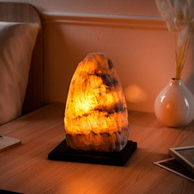 "Соляная лампа ""Гора Эльбрус"", 12 см × 16 см × 22 см"