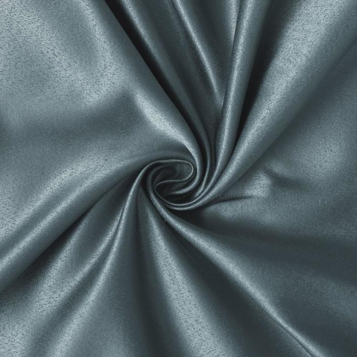 Ткань портьерная «Дамаск» TEAL SOLID, ширина 280, длина 10м, 160 г/м2