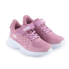 Кроссовки детские, цвет розовый, размер 34