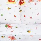 """Постельное белье """"Этель"""" Евро Jingle bells 200*217 см, 220*240 см, 70*70 см - 2 шт - фото 659765"""