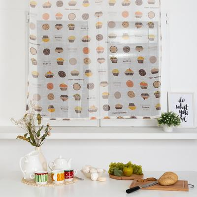 "Curtains for the kitchen Ethel 110х130 cm ""muffin"""