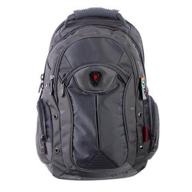 Рюкзак молодежный эргоном.спинка Across AC16 45*30*18 мал, серый/синий 20-AC16-065