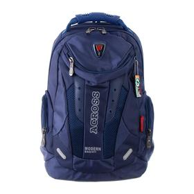 Рюкзак молодежный эргоном.спинка Across AC16 45*30*18 мал, синий 20-AC16-134