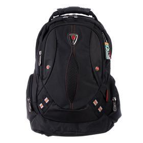 Рюкзак молодежный эргоном.спинка Across AC16 45*30*18 мал, чёрный 20-AC16-008