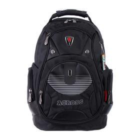 Рюкзак молодежный эргоном.спинка Across AC16 45*30*18 мал, чёрный 20-AC16-105