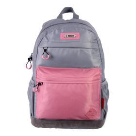 Рюкзак молодежный эргоном.спинка Merlin MR20-147 43*30*18 дев, серый/розовый MR20-147-1