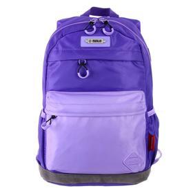 Рюкзак молодежный эргоном.спинка Merlin MR20-147 43*30*18, синий/сиреневый MR20-147-2