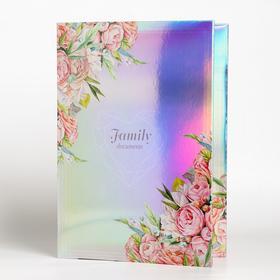 Папка для семейных документов «Family documents», 12 файлов, 4 комплекта, А4