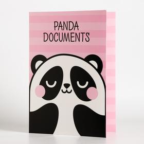 Папка для документов «Panda documents», 12 файлов, 4 комплекта, А4