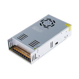 Блок питания для светодиодных лент и модулей TDM, 360 Вт, 12 В, P20, металл, с вентилятором