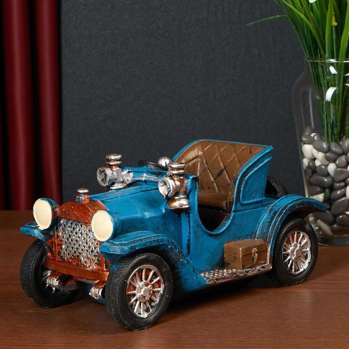 "Сувенир полистоун ""Ретроавтомобиль с открытым верхом"" МИКС 12,5х25х12 см"