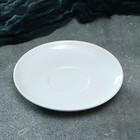 """Блюдце для чашки """"Сиеста"""", цвет капучино, 14 см, 1 сорт"""