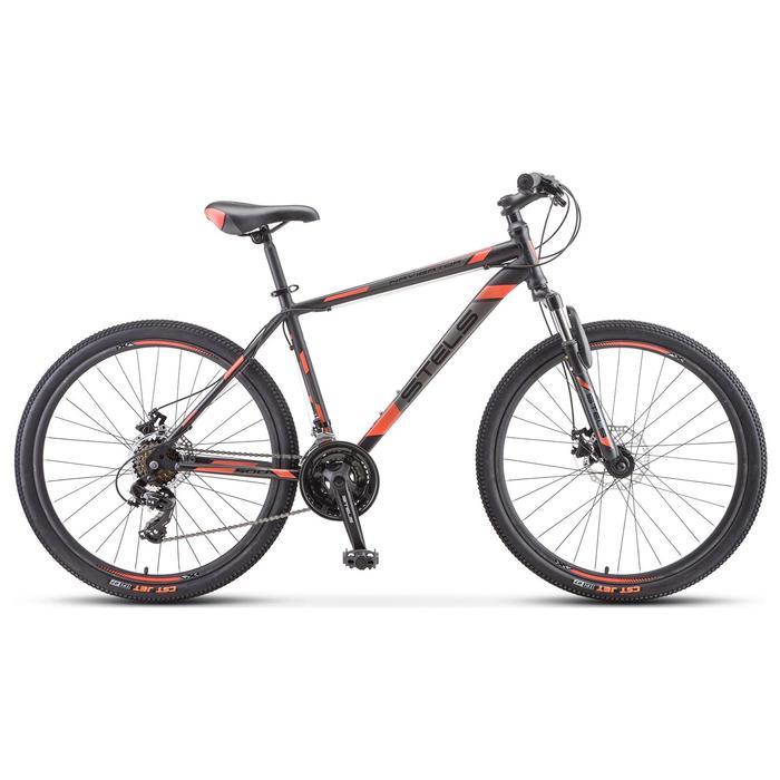 """Велосипед 26"""" Stels Navigator-500 MD, F010, цвет черный/красный, размер 16"""""""