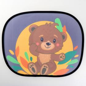Curtains on the side glass bear Cub, 2 PCs