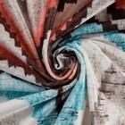 Штора портьерная Этель «Памир» 110х260 см, цвет мульти, 100% полиэстер, блэкаут