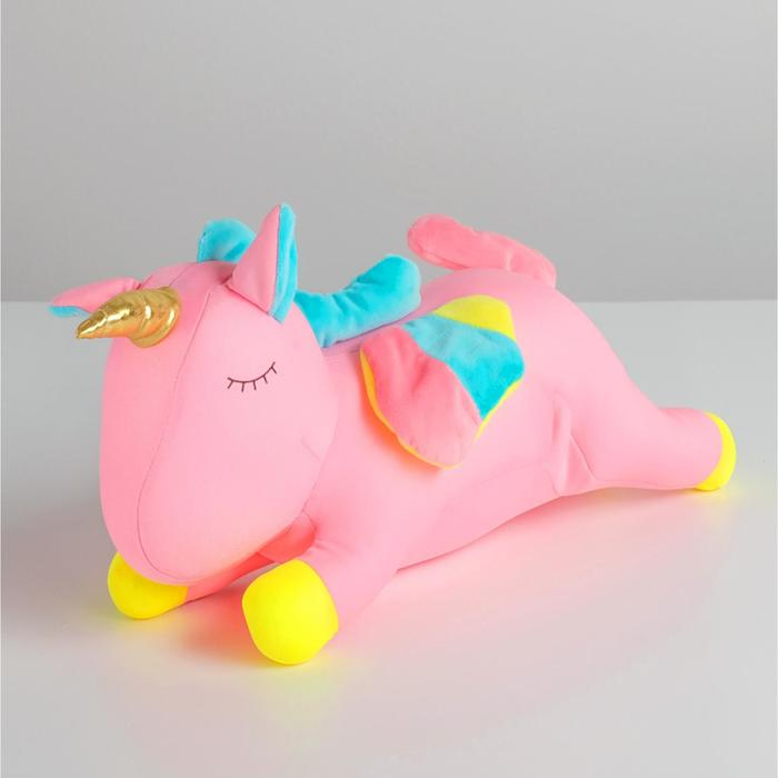 Игрушка-антистресс «Единорог», 30 см, цвета МИКС