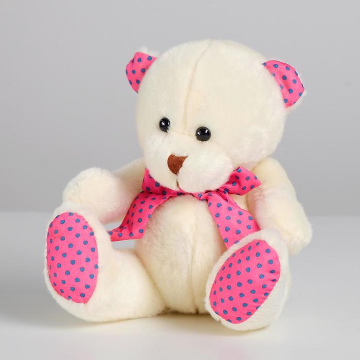 Мягкая игрушка «Белый мишка», цвета МИКС - фото 4467992