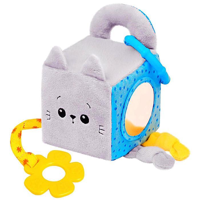 Развивающий кубик «Котёнок Кекс» - фото 554154