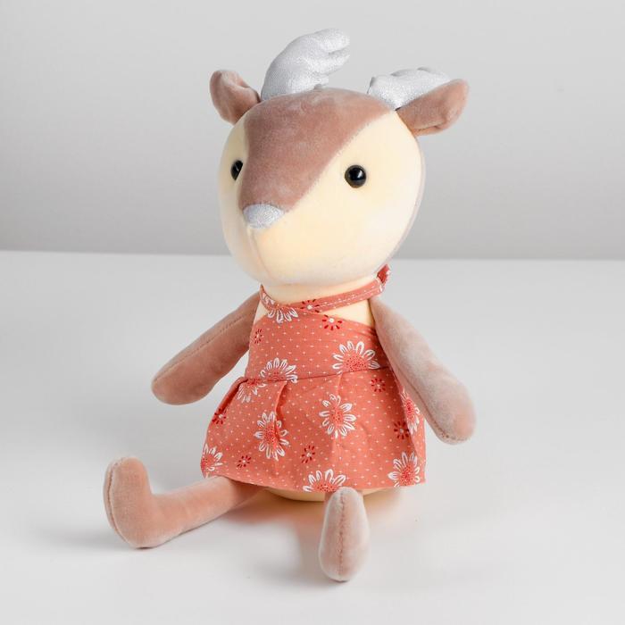 Мягкая игрушка «Олень», цвета МИКС - фото 4471403