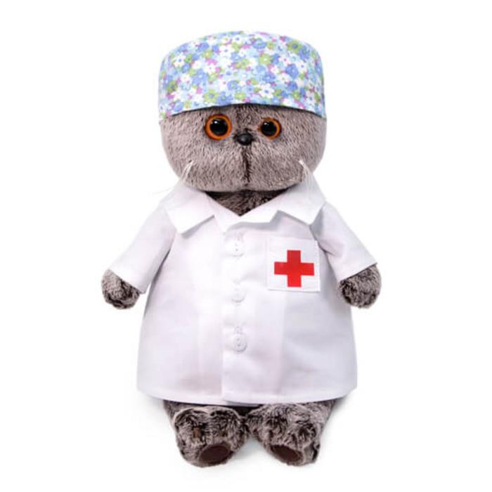 Мягкая игрушка «Басик-доктор», 19 см - фото 4467998