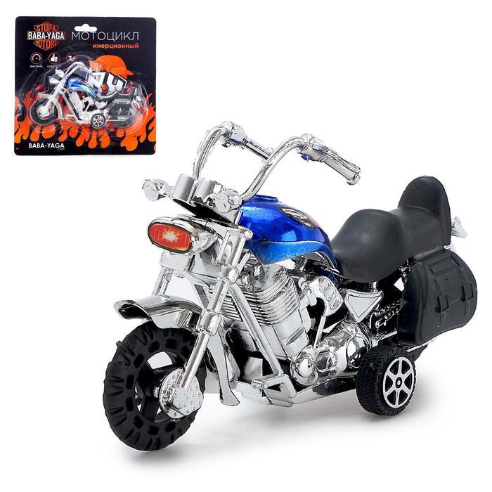 Мотоцикл инерционный «Харлей», МИКС