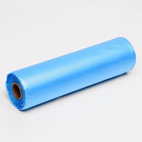 Набор пакетов фасовочных 24 х 37 см, 8 мкм, 500 шт, син на втулке