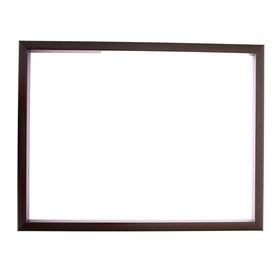 Рама для зеркал и картин, пластик, 30 х 40 х 1.9 см, Calligrata 640021, цвет серебро