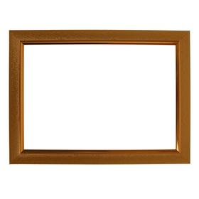 Рама для картин (зеркал) 21 х 30 х 2.8 см, пластиковая, Calligrata, золото